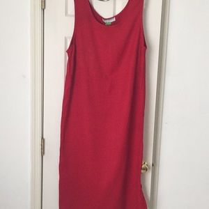 Your simple red dress (like new)